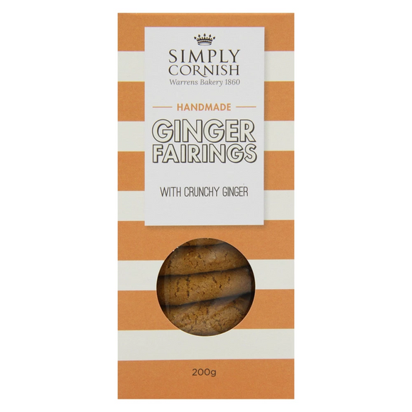 Simply Cornish Crunchy Ginger Farings (200g)