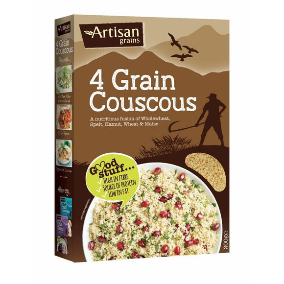 Artisan Grains 4 Grain Couscous (200g)