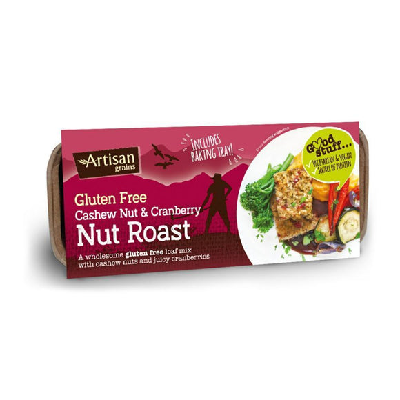 Artisan Grains Cashew & Cranberry Nut Roast (200g)