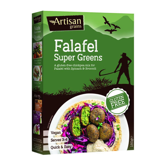 Artisan Grains Super Greens Falafel (150g)