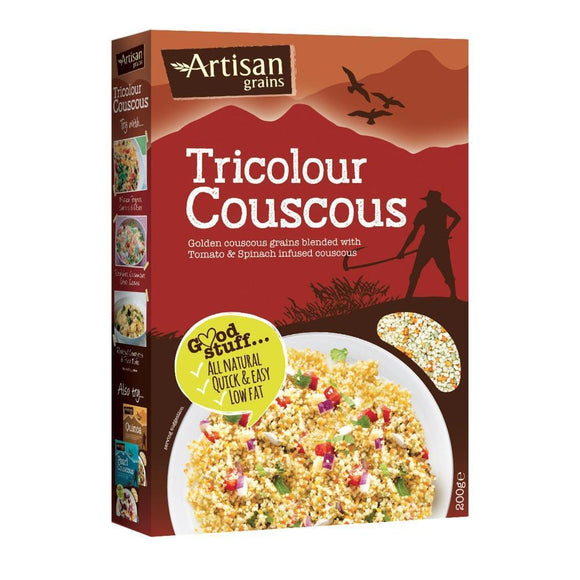 Artisan Grains Tricolour Couscous (200g)