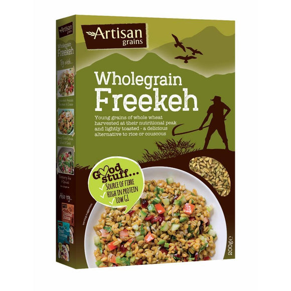 Artisan Grains Wholegrain Freekeh (200g)