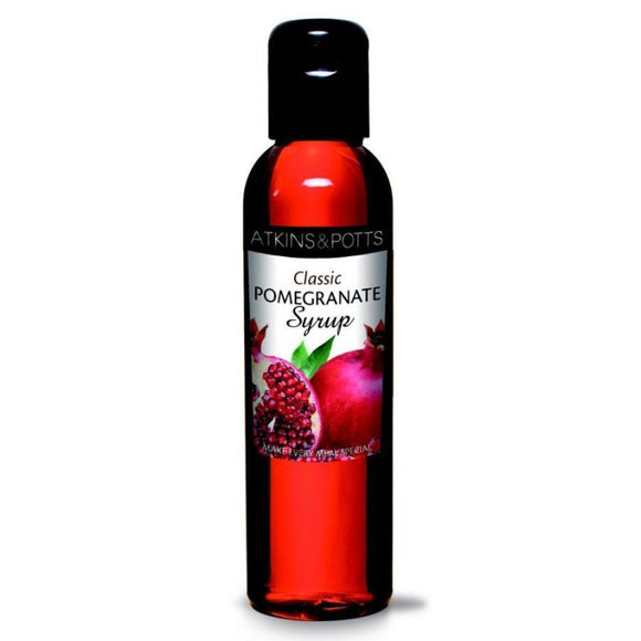 Atkins & Potts Pomegranate Syrup (200g)