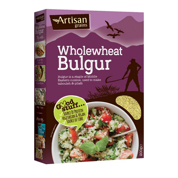 Artisan Grains Wholewheat Bulgur (200g)
