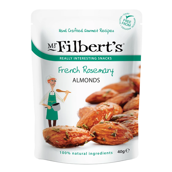 Mr Filbert's French Rosemary Almonds (40g)