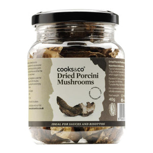 Cooks & Co Dried Porcini Mushrooms (40g)