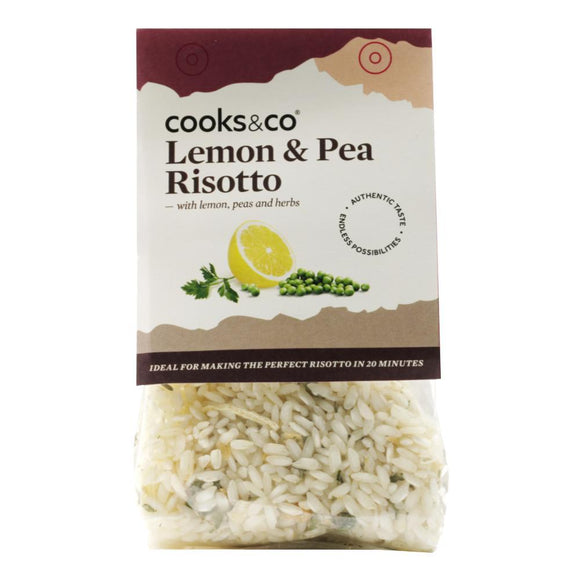 Cooks & Co Lemon & Pea Risotto (190g)