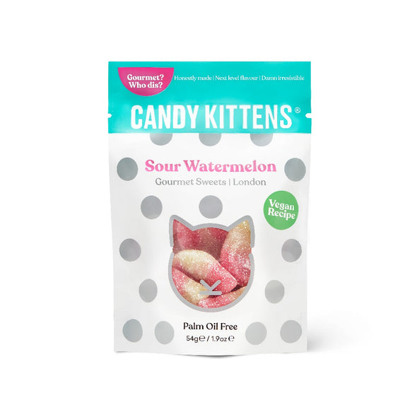 Candy Kittens Sour Watermelon Gourmet Sweets (54g)