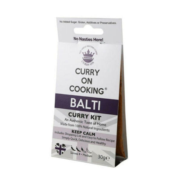 Curry on Cooking Balti Curry Kit (30g)