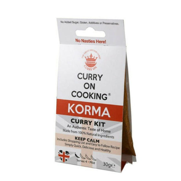 Curry on Cooking Korma Curry Kit (30g)