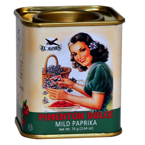 El Avion Vintage Mild Paprika in Retro Tin (75g)
