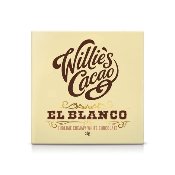Willie's Cacao El Blanco Venezuelan White Chocolate (50g)
