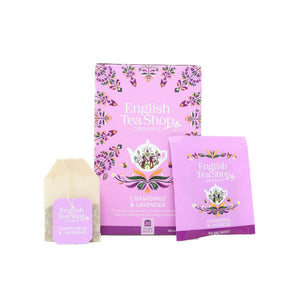 English Tea Shop Organic Chamomile & Lavender (20 Tea Bags)