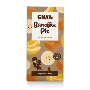 Gnaw Milk Chocolate Banoffee Pie Bar (100g)