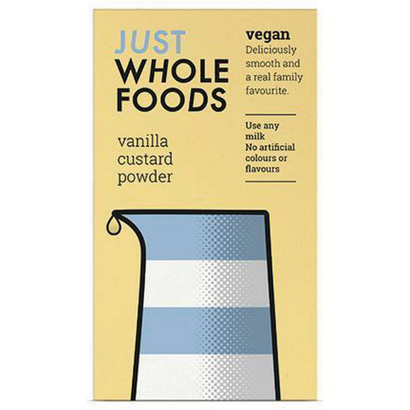 Just Wholefoods Vanilla Custard Powder (100g)