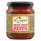 Mr Organic Italian Chilli & Garlic Pesto (130g)