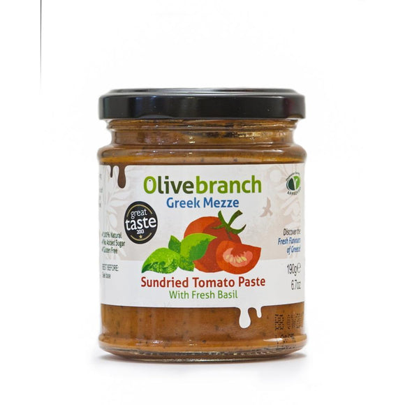 Olive Branch Sundried Tomato Paste (190g)