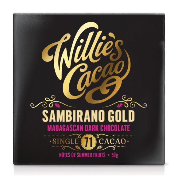 Willie's Cacao Sambirano Gold Madagascan Dark Chocolate (50g)