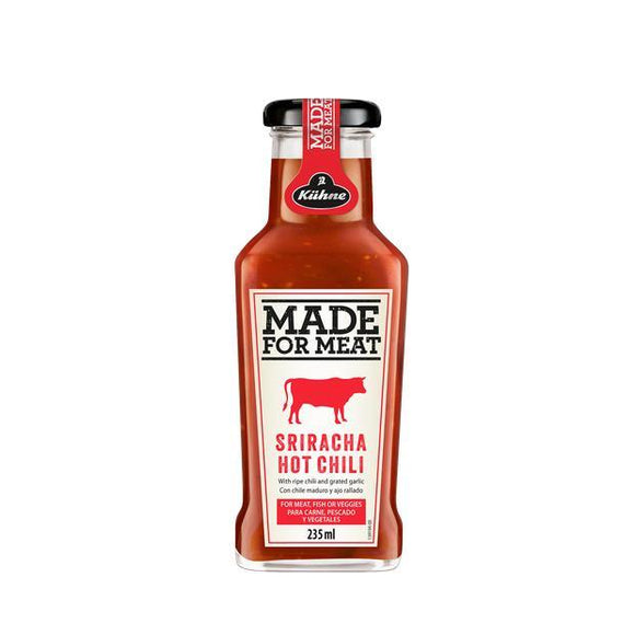 Made for Meat Sriracha Hot Chilli Sauce (235ml)