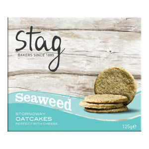 Stag Seaweed Oatcakes (125g)