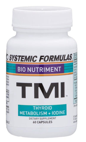 Systemic Formulas TMI - Dr Greg Mongeon