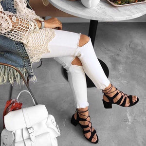 LISA - Lace-Up Summer Sandal