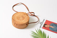 Load image into Gallery viewer, Rakel - Natural handmade rattan bag