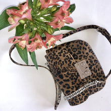 Load image into Gallery viewer, cross body bag with leo print