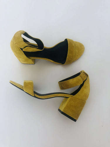 MIRI - Strap Summer Sandals (mustard yellow)