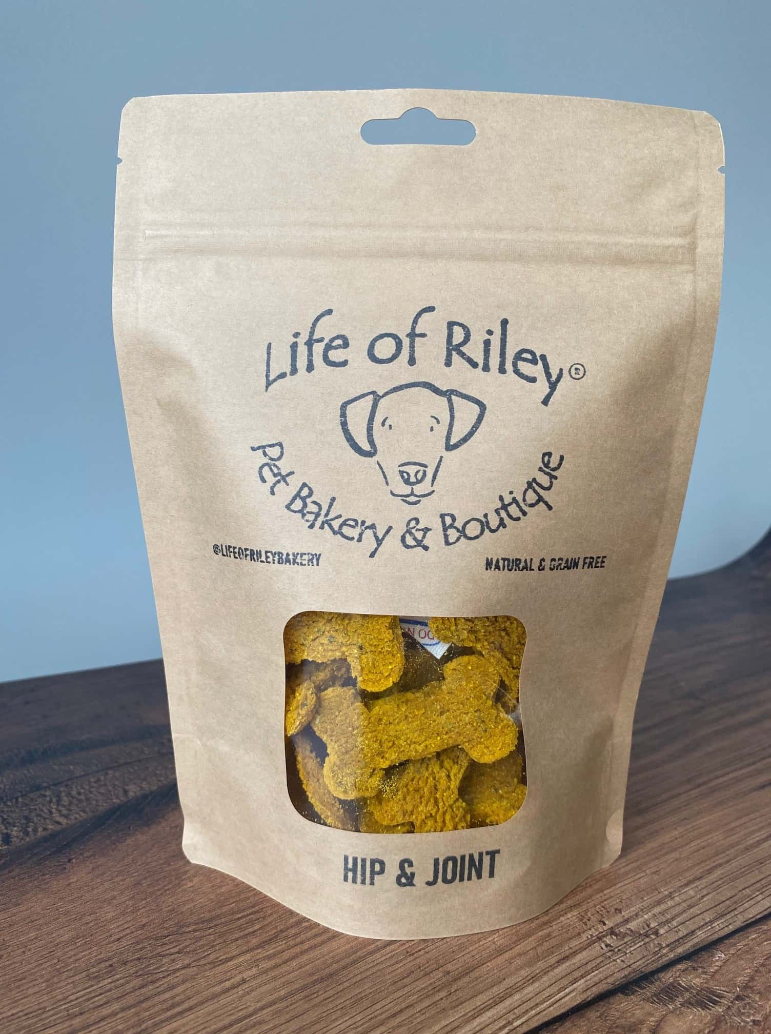 hip and joint dog treats turmeric old dogs grain free natural bag