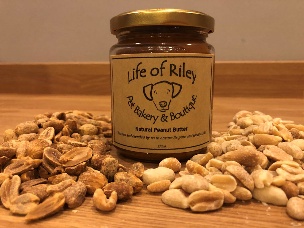 dog safe pure natural peanut butter handmade