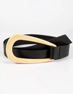 Geometric Knot Buckle Belt - Shades of Beautii Collection