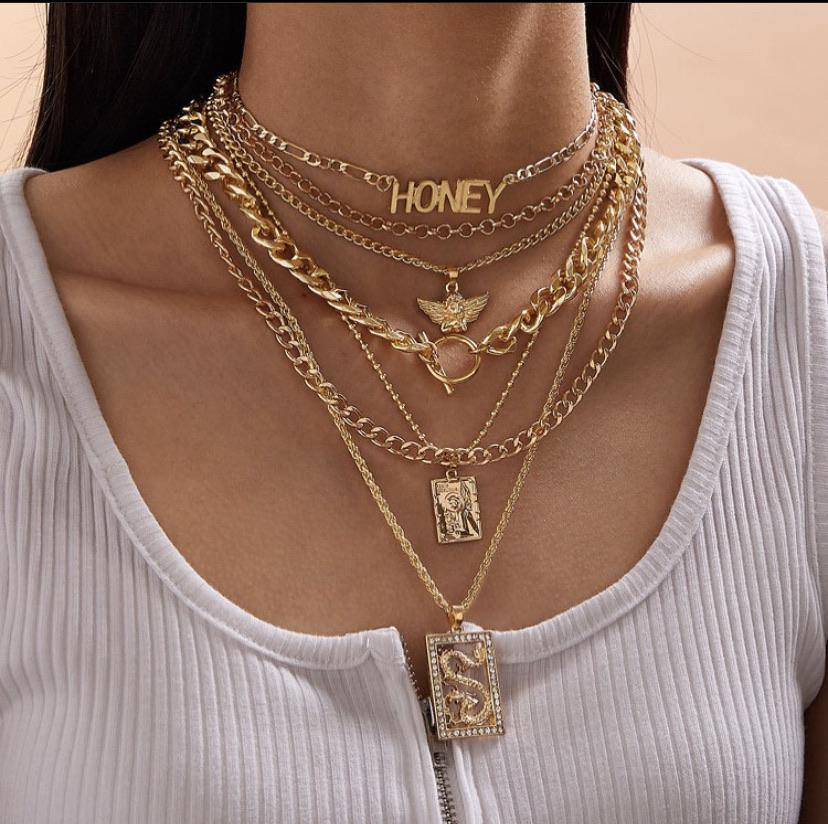 Honey Necklace