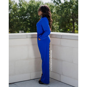 Ms Independent - Blue Jumpsuit
