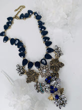 Load image into Gallery viewer, Bold Chunky Blue Necklace