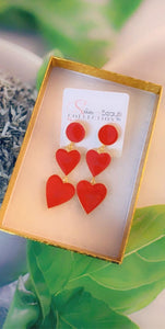 Heart of Hearts Earrings