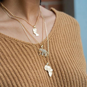 Ankh Layered Necklace