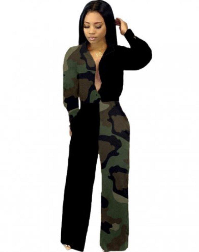 Army Jumpsuit