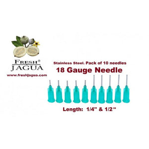 10X 18 Gauge Applicator Needles (for jagua ink tattoo gel)