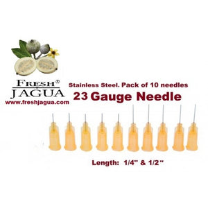 10X 23 Gauge Applicator Needles (for jagua ink tattoo gel)