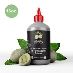 16 Ounce Bottle of Fresh Jagua tattoo Gel