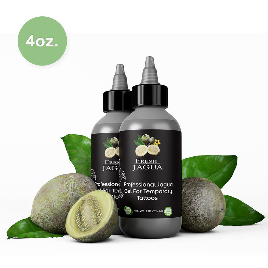 4 Ounce Bottle of Fresh Jagua tattoo Gel