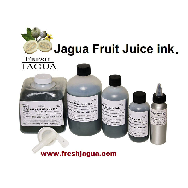 Pure Jagua fruit juice ink extract - Unpasteurized