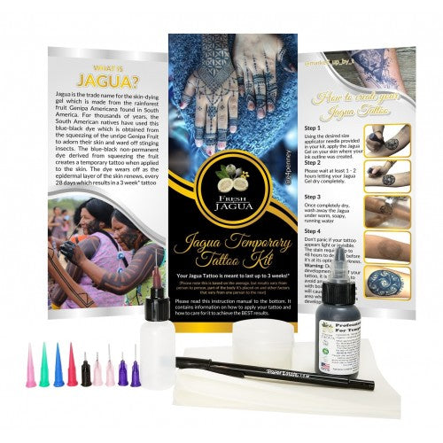 1 oz. Jagua tattoo gel combo kit