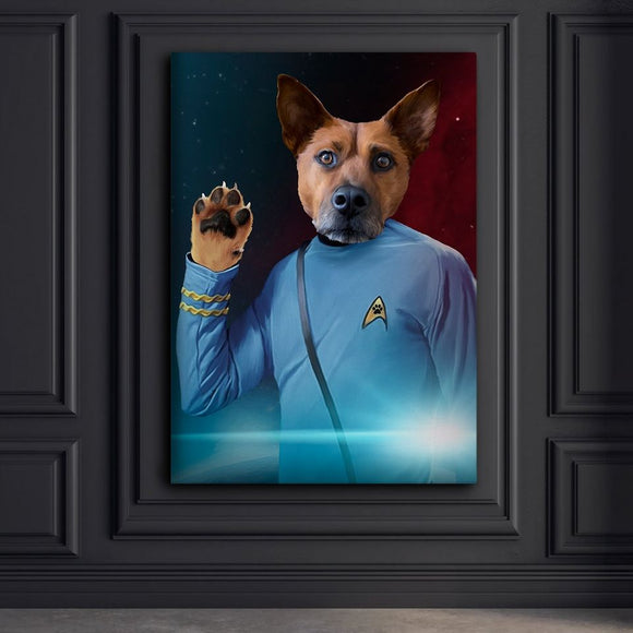 Spock Pet Portraits