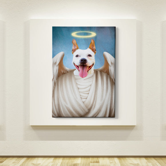 Angel Custom Pet Portrait - Pet Portraits
