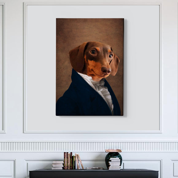 Statesman Custom Pet Portrait - Pet Portraits