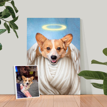Angel Custom Pet Portrait