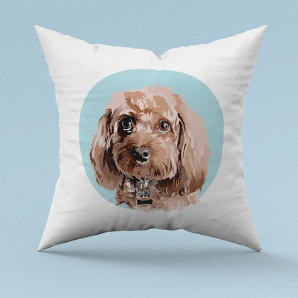 Custom Illustrated Pillow
