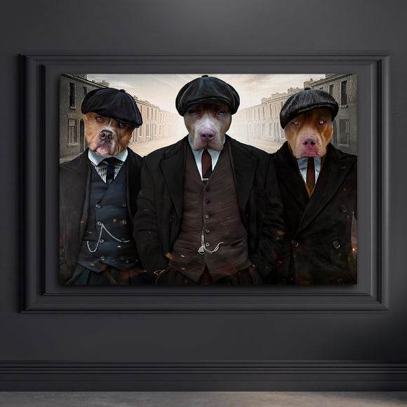 The Pawky Blinders (3 Pets in 1)